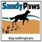 Our Sandy Paws Logo
