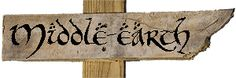 Middle-earth sign | Lord of the Rings | Neverwhere Signs