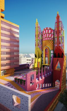 Gallery of The Democratic Monument: Adam Nathaniel Furman's Manifesto for a New Type of Civic Center - 8