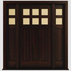 Craftsman Interior Doors & Craftsman Exterior Doors & Custom Craftsman Doors.