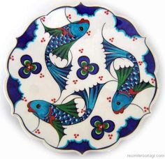traditional Turkish tile art