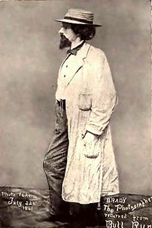 Matthew Brady, Civil War Photographer  Most of the photos that survived the war and reconstruction are his. He is a HERO