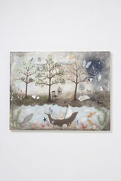 1000 images about my anthropologie world on pinterest for Anthropologie enchanted forest mural