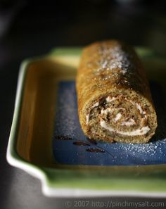 Banana Cake Roll with Cream Cheese Filling...what diet? hahaha. bananas...check...cream cheese..check...together...CHECK!