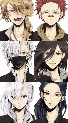 Anime Sexy, Cool Anime Guys, Cute Anime Boy, Touken Ranbu, Boy Hair Drawing, Anime Boy Hair, Expressions Photography, Hair Sketch, Anime Group