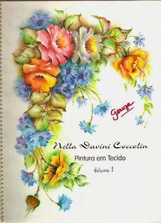 Pintura Tecido - Nella Davinni Coccolin - Apostila 1 - maria serafina aguiar…