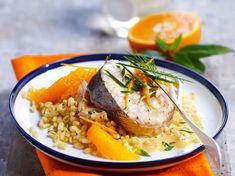 Découvrez la recette Merlu à l'orange sur cuisineactuelle.fr.