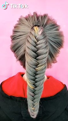 Super easy to try a new #hairstyle ! Download #TikTok today to find more amazing videos. Also you can post videos to show your unique hair styles! Life's moving fast, so make every second count. #hair #beauty #diy #braids Unique Hairstyles, Funny Hairstyles, Pretty Hairstyles, Wedding Hairstyles, Herringbone Braid, Fishtail Braid Hairstyles, School Hair, Tik Tok, Beauty Tips