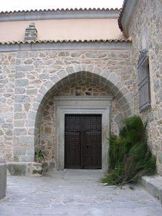 Portada de la Iglesia de Santa Catalina (El Real de San Vicente) Siglos XVI-XVIII