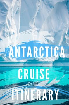100 years ago no more than a handful of people had journeyed to Antarctica, however today around 30,000 travelers visit each year. And we're ridiculously excited to announce that next year, we will be too! Click pin through to post for our itinerary.