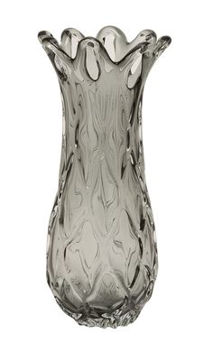Wonderful Unique Patterned Glass Ash Vase