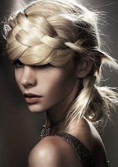 high fashion braid