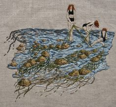Michelle Kingdom – Embroidery | NOWhere Limited: Contemporary Art