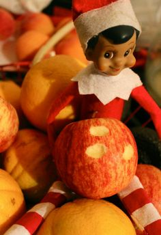 Elf on the Shelf - Midnight snack