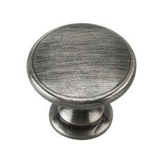 Richelieu Hardware 1 3/4 In. Brushed Pewter Cabinet Knob