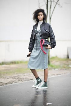 Chic On The Street - Fashion's Finest Take To The Streets During Paris Fashion Week