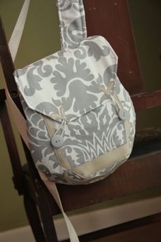 One of a Kind Small Backpack Purse by RetroModernHats on Etsy, $65.00