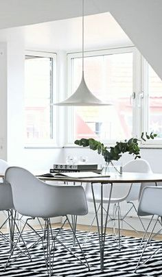 Via NordicDays.nl | Eames | White | Design Classics in Malmö