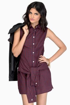 Trouble Seeker Dress at Tobi.com #shoptobi