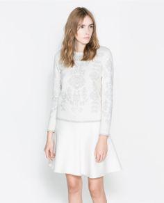 $40 Image 1 of REVERSIBLE SWEATSHIRT from Zara