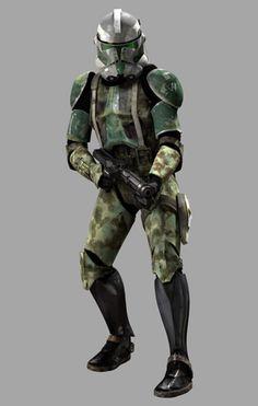 Clone Commander Gree Phase II