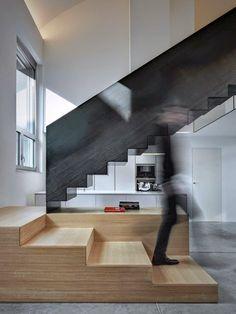ilia estudio interiorismo: Diseño de Loft en Milán, un regalo para la vista.