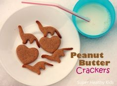 Homemade Peanut Butter Crackers | Healthy Ideas for Kids