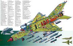 MiG-21 cutaway