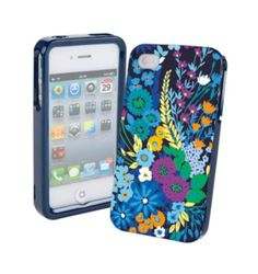 Frame Case for iPhone 4/4S | Vera Bradley Midnight Blues