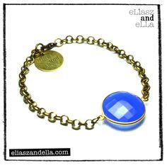 """Fun and Fresh"" Chain Gemstone Bracelet"