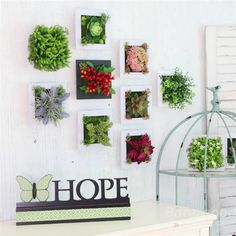 Wall Plant Decor 3d artificial plant simulation flower frame wall decor home garden