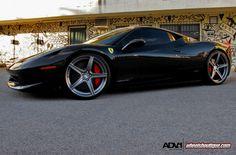 Ferrari 458 Italia on ADV1 Wheels