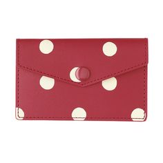 Travel Accessories Spot Leather Business Card Holder Cath Kidston