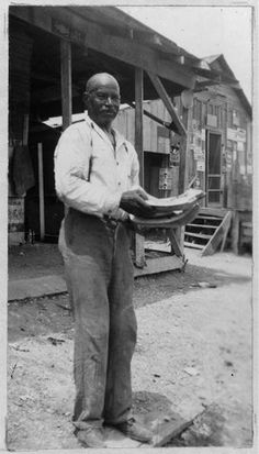 LEWIS JONES, 86, was born a slave in Fayette Co., Texas.  Lewis' father was born a slave and was sold to Fred Tate, who used him as a breeder to build up his slave stock.  Lewis took his father's name after Emancipation.  (Texas Slave Narratives, ca. 1936-1938)