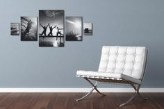 Symmetrische Fotocollage