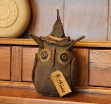 Primitive Witch Owl Shelf Sitter ~ Hoot ~