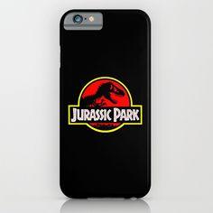 Jurassic Park Logo iphone case, smartphone