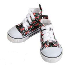 [wamami] Cherry Pattern Sneaker/Shoes For 1/4 MSD DOD AOD LUTS BJD Dollfie