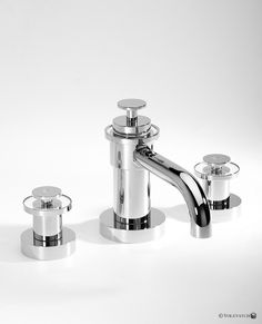 Volevatch Grand Hotel desk mounted 3-hole basin mixer. www.waterleau.eu Basin Mixer, Grand Hotel, Modern Bathroom, Self, Funky Bathroom, Modern Bathrooms, Bathroom Modern