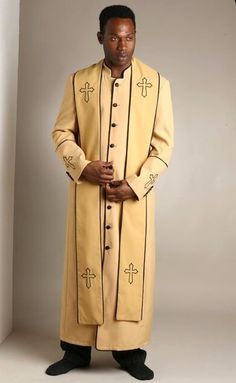 clegy robe gold - Google Search