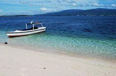 Pink Sand Beach - Great Santa Cruz Island, Zamboanga #PinkSand #Beach #GreatSanta Cruz #Island #Zamboanga