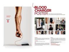 """Publicis Brasil, São Paulo  Fundação Pró-Sangue """"Blood Charger"""""""