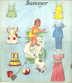 WE THREE 1940 | Cut-Out Paper Dolls | from REUBEN H. LILJA & CO., INC