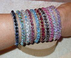 PATTERN Stack Um Up Bracelet Right Angle Weave by BaublesbyBalonis