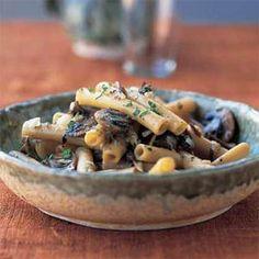 Tuscan ziti with porcini mushroom sauce...