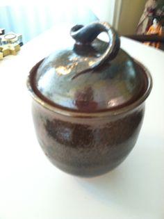 a fun carbon trap pot with Shino