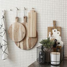 """Hübsch interior baskets """"Noah"""" set of 3 – Decor Ideas Kitchen Styling, Kitchen Decor, Kitchen Tiles, Decoration Chic, Modern Kitchen Interiors, Ideas Hogar, Kitchen Corner, Scandinavian Kitchen, Home Staging"""