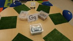 Letter O and G activities and center ideas for your kindergarten classroom!