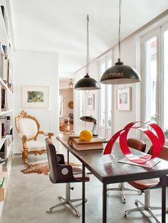 Nods to Classicism in Eclectic Spanish Home | Thou Swell