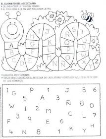 Fun for the kids! Pre K Activities, Language Activities, Learning Activities, Abc Tracing, Kids Sheets, Birthday Charts, Elementary Spanish, Preschool Spanish, Kindergarten Class